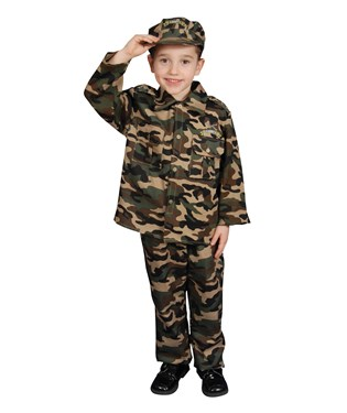 Military Officer Toddler / Child Costume