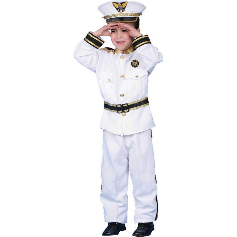 Navy Admiral Deluxe Child Costume for the 2015 Costume season.