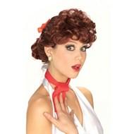 50's Housewife Auburn Wig