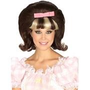 60's Princess Brown/Blonde Combo Wig