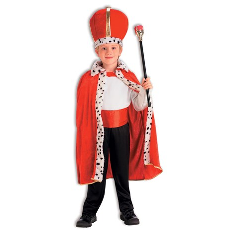 King Child Costume Kit