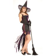 Sexy Lace Up Witch Adult