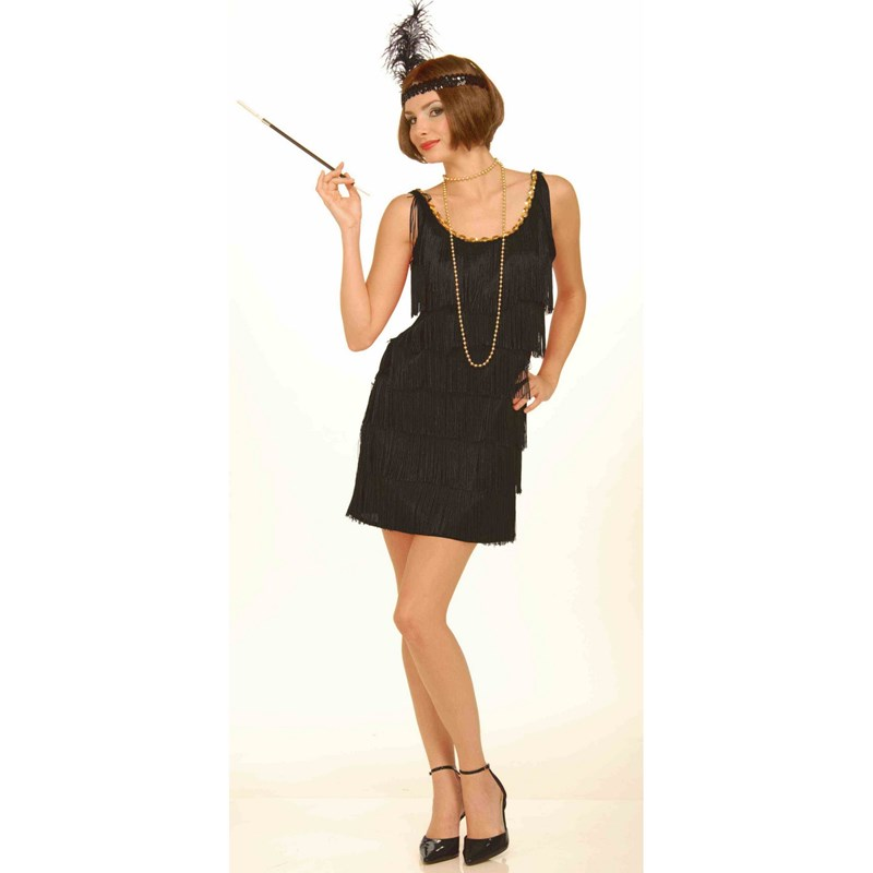 Black Flapper Costume Adult for the 2015 Costume season.