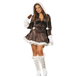 Eskimo Cutie Adult Plus Costume
