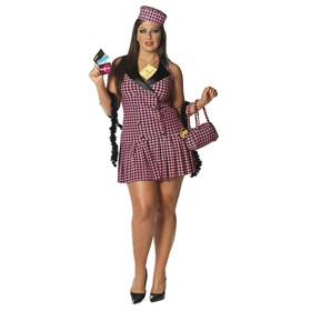 Shop-A-Holic Sexy Plus Adult Costume