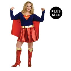 Supergirl Adult Plus Costume