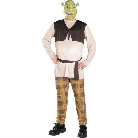 Shrek The Third Shrek Adult Plus Costume