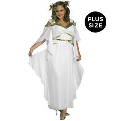 Roman Goddess Adult Plus Costume