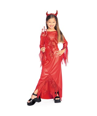 Devilish Diva Child Costume