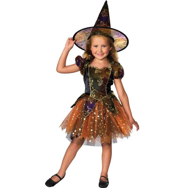 Elegant Witch Toddler  and  Child Costume for the 2015 Costume season.
