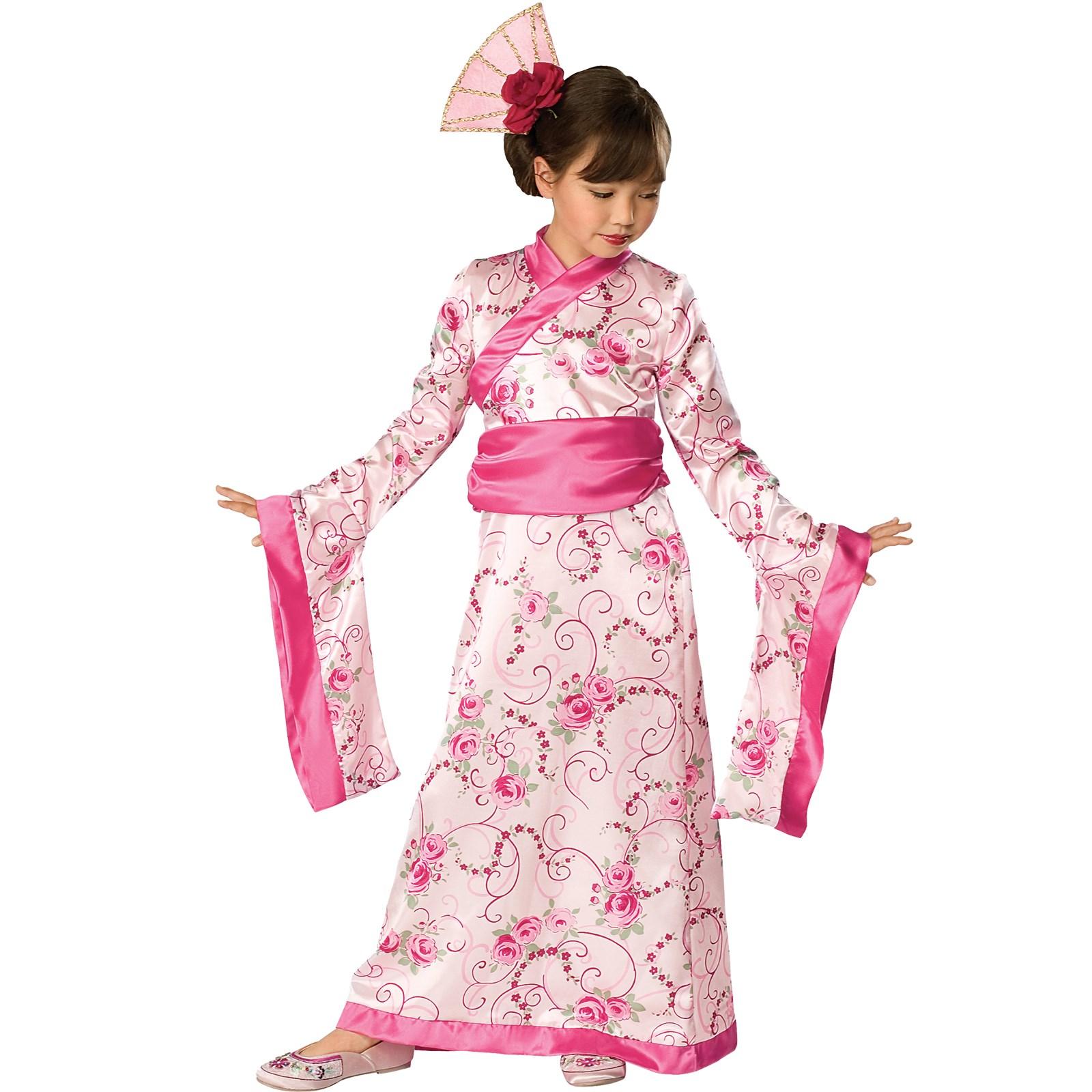 Image of Asian Princess Child Costume