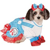 Wizard of Oz Dorothy Pet Costume