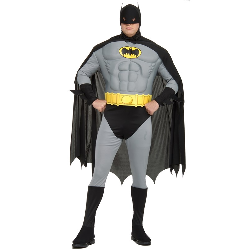 Muscle Chest Batman Adult Plus Costume for the 2015 Costume season.