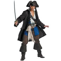 Pirates of the Caribbean 3 Captain Jack Sparrow Prestige Adult (2007)
