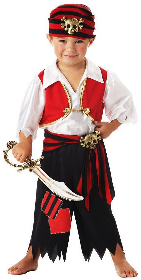 Image of Ahoy Matey Pirate Toddler Costume