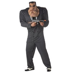 Massive Mobster Adult Costume