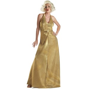 Golden Glamour Marilyn Adult Costume