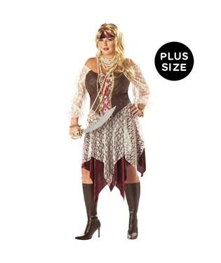 South Seas Siren Adult Plus Costume
