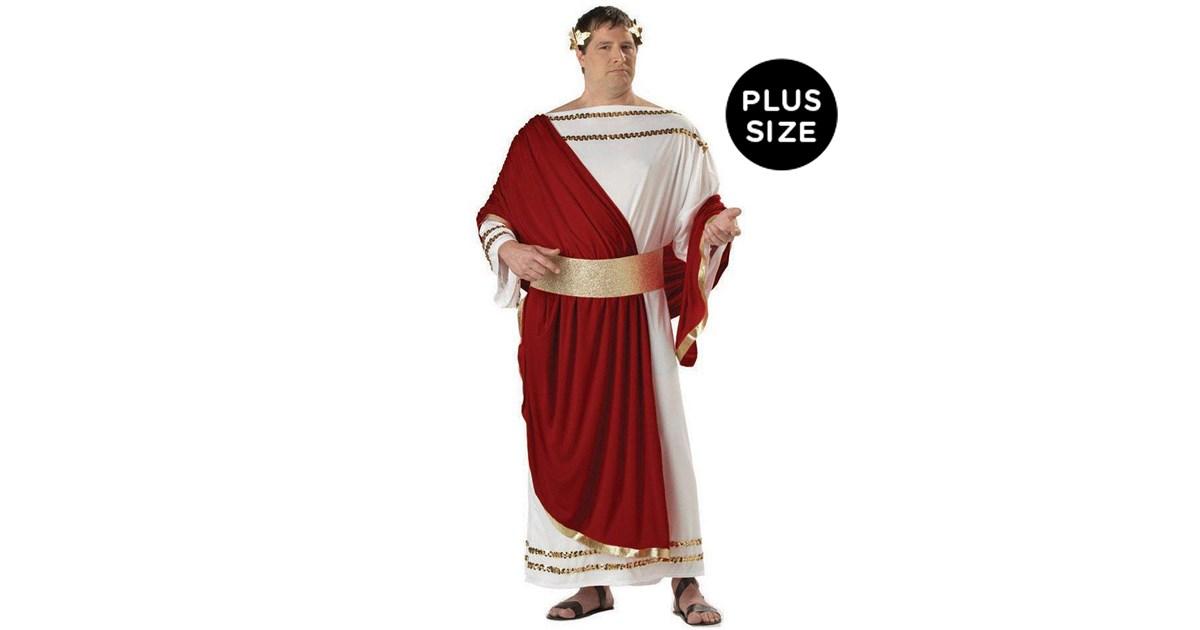 Caesar Adult Plus Costume Buycostumes Com