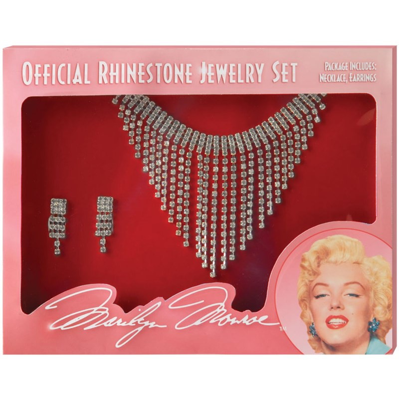 Marilyn Jewelry Set for the 2015 Costume season.