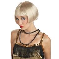 Flirty Flapper Wig - Blonde