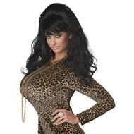 Vegas Baby! - Black Wig