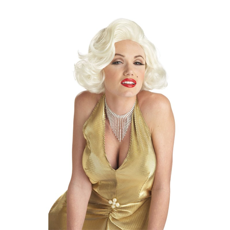 Classic Marilyn Monroe Wig for the 2015 Costume season.