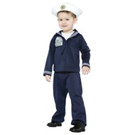Navy Uniform Toddler Costume