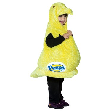 Marshmallow Peeps Toddler Costume