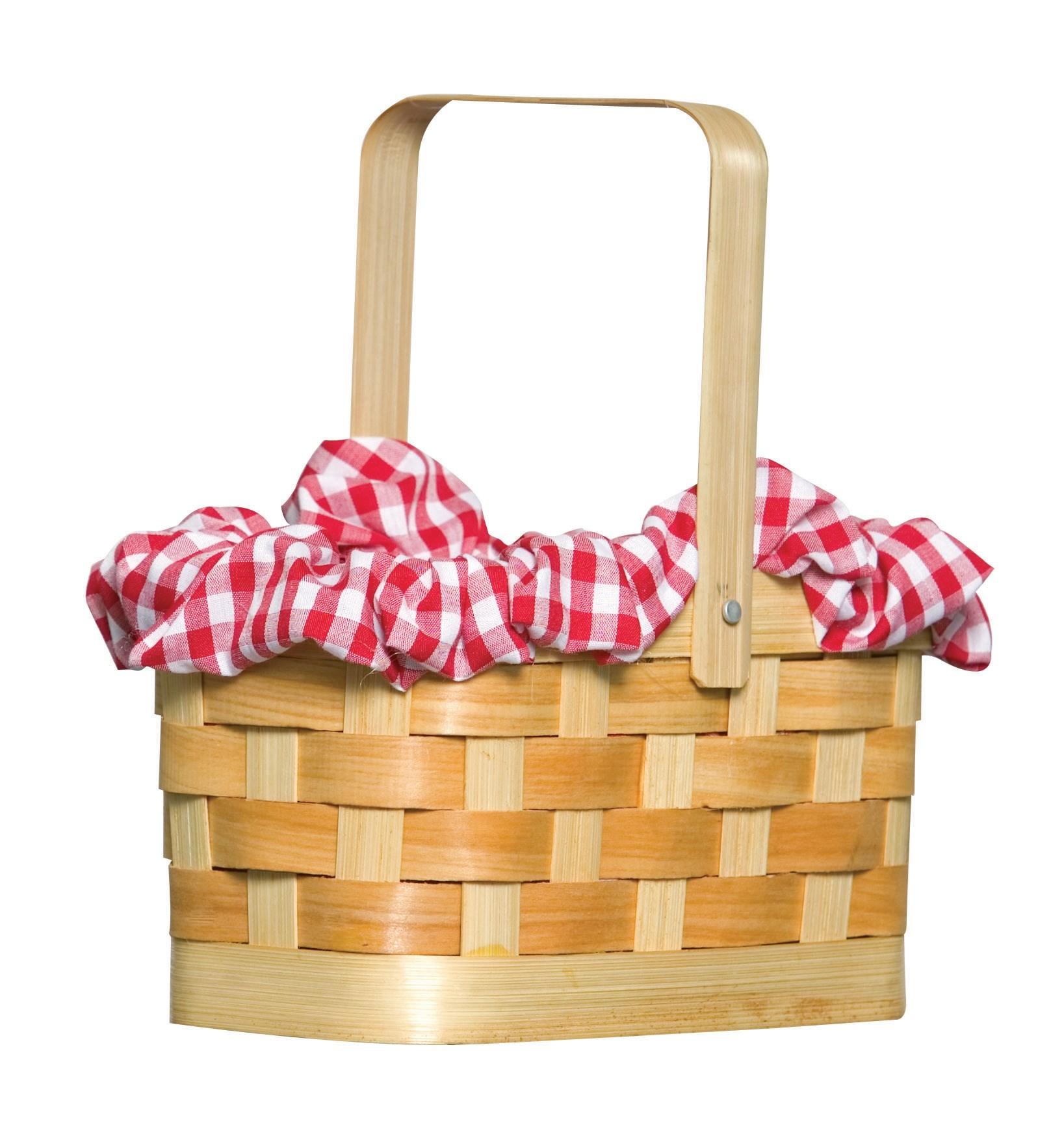 Gingham Basket