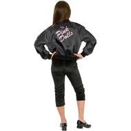Pink Ladies Jacket Child (Black) Costume