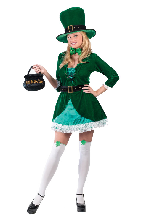 Luscious Leprechaun Adult Costume