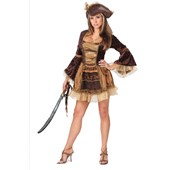 Sassy Victorian Pirate Adult Costume