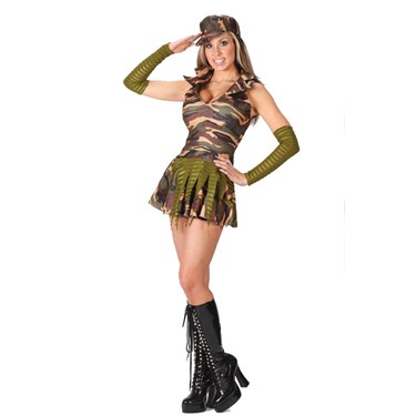 Army Brat Teen Costume