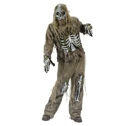 Skeleton Zombie Adult Costume