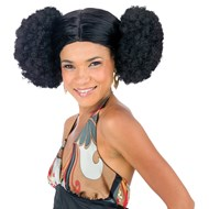 Afro Poof Wig Adult