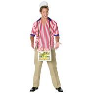 Hot Dog Vendor Adult Costume