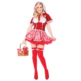 Playboy Little Red Vixen  Adult Costume
