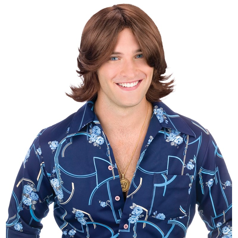 Ladies Man Brown Wig for the 2015 Costume season.