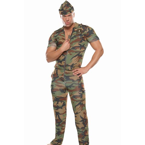 """Sergeant """" In """" Arms Adult Costume"""