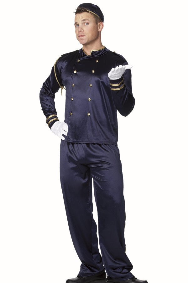 Bell Boy Adult Male Costume Buycostumes Com