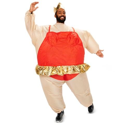 Inflatable Ballerina  Adult Costume
