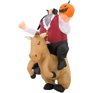 Inflatable Headless Horseman  Adult Costume