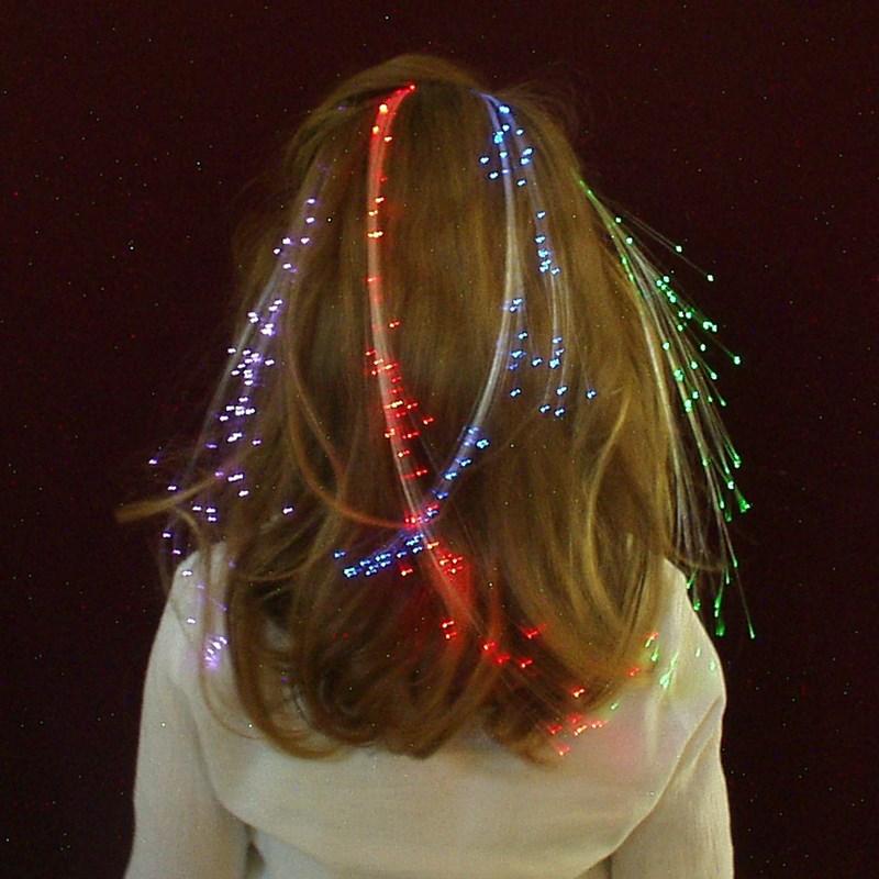 Glowbys Rainbow Hair Accessory for the 2015 Costume season.