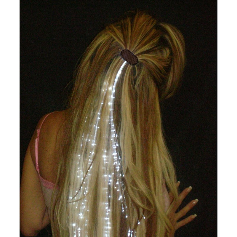 Glowbys White Hair Accessory for the 2015 Costume season.