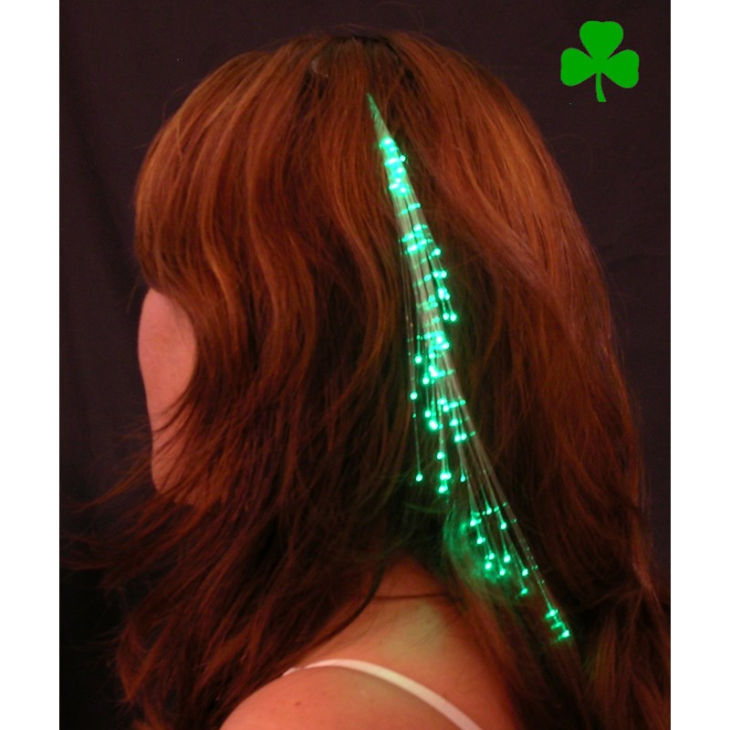 Glowbys Green Hair Accessory for the 2015 Costume season.