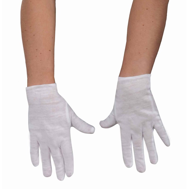 Theatrical (White) Child Gloves for the 2015 Costume season.