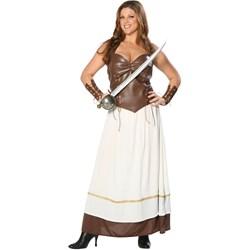 Viking Warrior Princess Plus Adult Costume