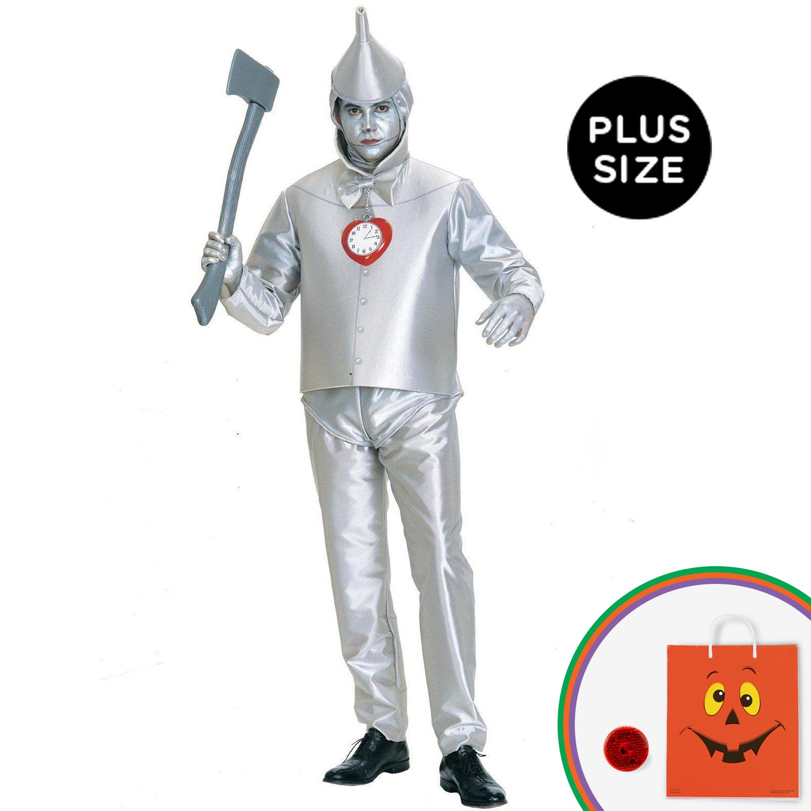 The Wizard of Oz - Tin Man Adult Plus Costume
