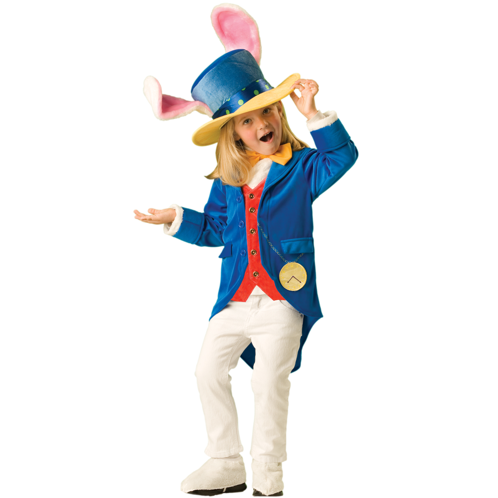 Alice in bunny costume and stockings masturbating 8